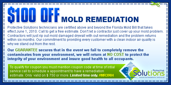 mold remediation coupon